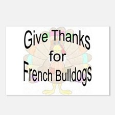 Thanks for French Bulldog Postcards (Package of 8)