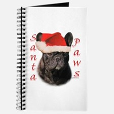 Santa Paws French Bulldog Journal