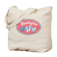 Huntington State Sandal Badge Tote Bag