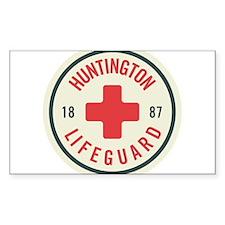 Huntington Beach Lifeguard Patch Decal