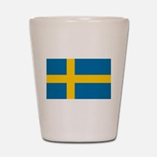 Sweden - National Flag - Current Shot Glass