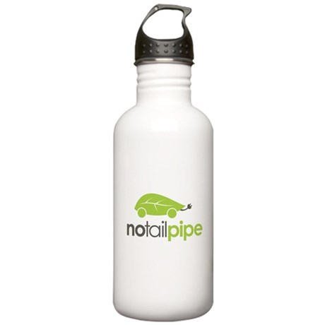 No Tail Pipe Stainless Water Bottle 1.0L