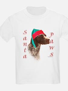 Santa Paws GSP Kids T-Shirt