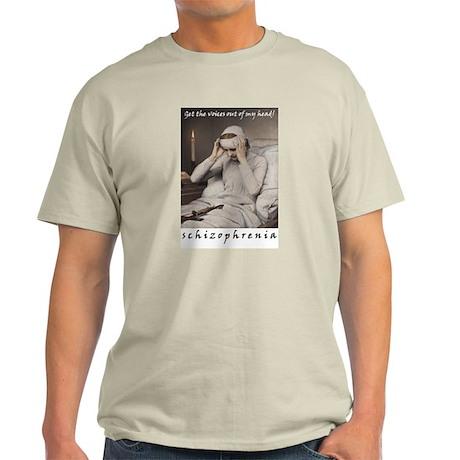 Schizophrenia Ash Grey T-Shirt