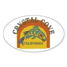 Crystal Cove Sunset Fish Decal
