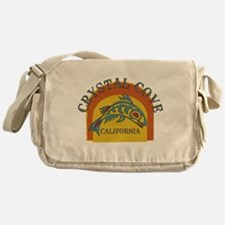 Crystal Cove Sunset Fish Messenger Bag