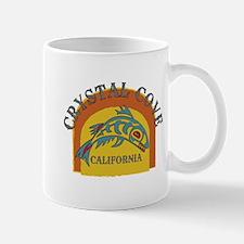 Crystal Cove Sunset Fish Mug
