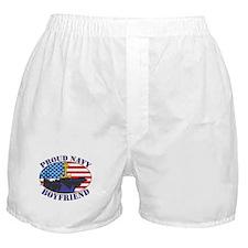 Proud Navy Boyfriend Boxer Shorts