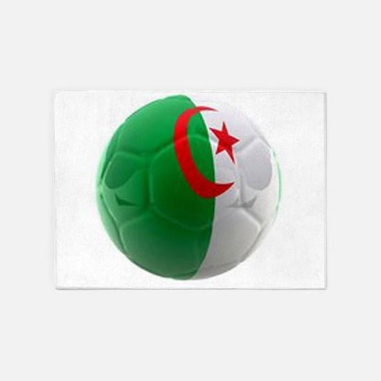 Algeria World Cup Ball 5'x7'Area Rug