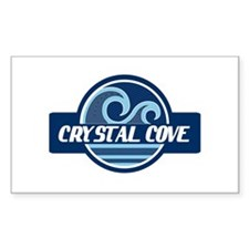 Crystal Cove Surfer Pride Decal