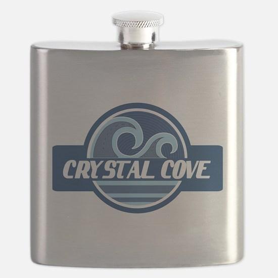 Crystal Cove Surfer Pride Flask