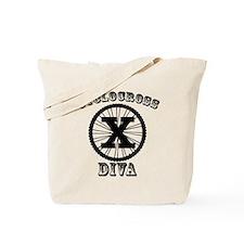 Cyclocross Diva Tote Bag
