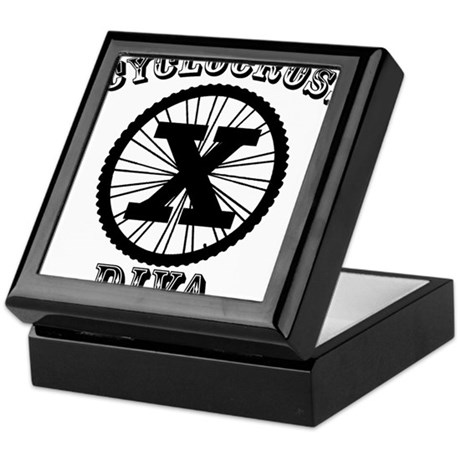 Cyclocross Diva Keepsake Box