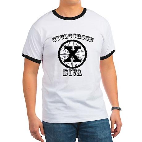 Cyclocross Diva Ringer T