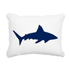 Shark/Jaws Rectangular Canvas Pillow