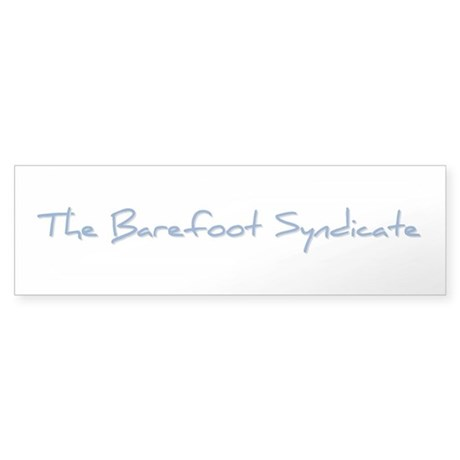The Barefoot Syndicate Sticker - Blue