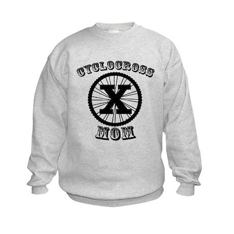 Cyclocross Mommy Diva Kids Sweatshirt