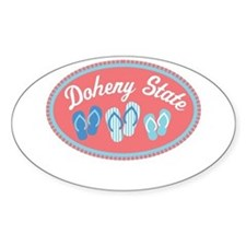 Doheny State Sandal Badge Decal
