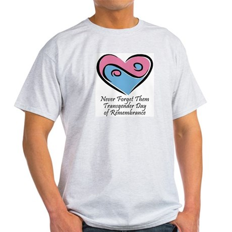 Transgender Day of Remembrance Ash Grey T-Shirt