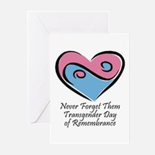 Transgender Day of Remembrance Greeting Cards (Pac