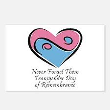 Transgender Day of Remembrance Postcards (Package
