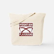 Mountain Playground Tote Bag