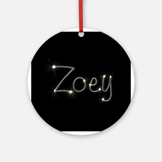 Zoey Spark Ornament (Round)
