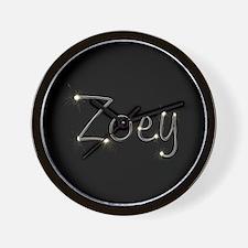 Zoey Spark Wall Clock