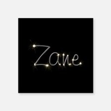 "Zane Spark Square Sticker 3"" x 3"""