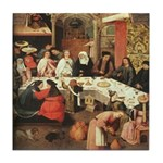 Marriage Feast At Cana Tile Coaster