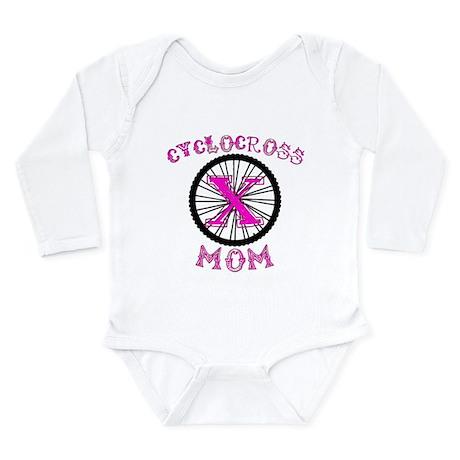 Cyclocross Mom Unique Long Sleeve Infant Bodysuit