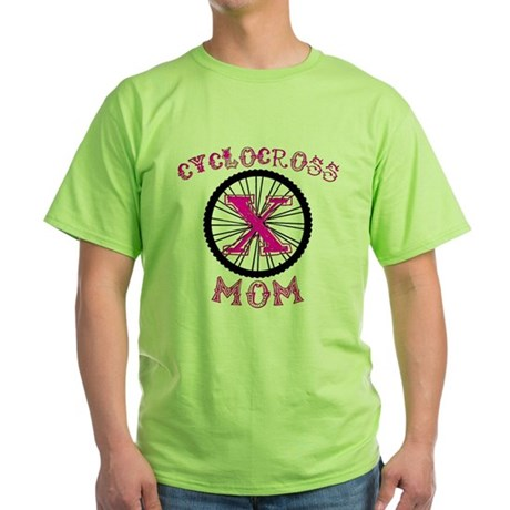 Cyclocross Mom Unique Green T-Shirt