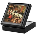 Marriage Feast At Cana Keepsake Box