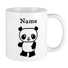 Personalized Panda Small Mug
