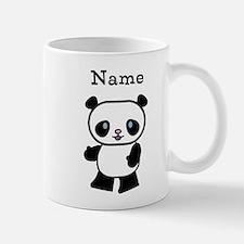 Personalized Panda Small Mugs