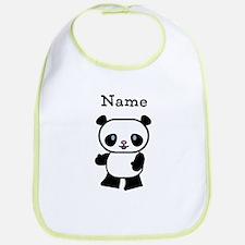 Personalized Panda Bib