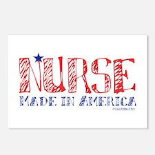 Nurse made in America Postcards (Package of 8)