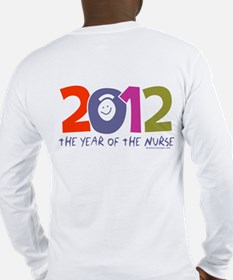 Nurse made in America Long Sleeve T-Shirt