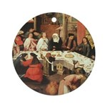 Marriage Feast At Cana Ornament (Round)