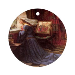 Fair Rosamund Ornament (Round)