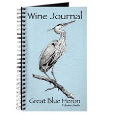 Great Blue Heron Wine Journal