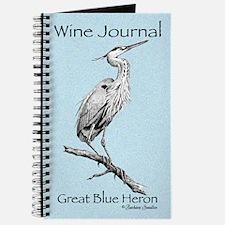 Great Blue Heron Wine Journal