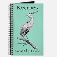 Great Blue Heron Recipes Journal