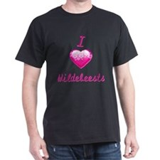 I Love/Heart Wildebeests T-Shirt