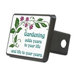 Gardening adds Years Rectangular Hitch Cover