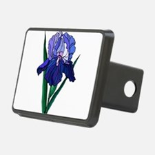 Stained Glass Iris Hitch Cover