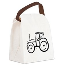 Farm Tractor Canvas Lunch Bag