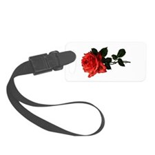 Victorian Garden Rose Luggage Tag