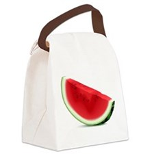 Watermelon Slice Canvas Lunch Bag