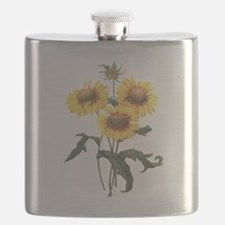 Redoute Sunflowers Flask